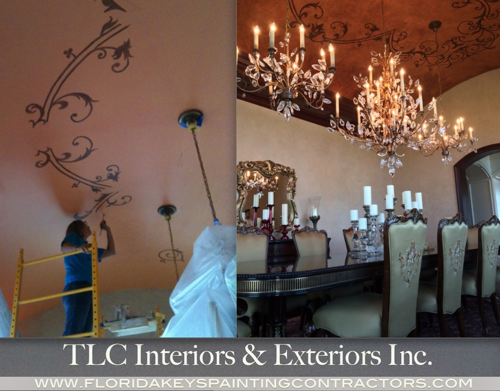 Florida Keys Home Decor Faux Finishes Venetian Plastering Custom Painting And More Decorative Contractors Fl Designs