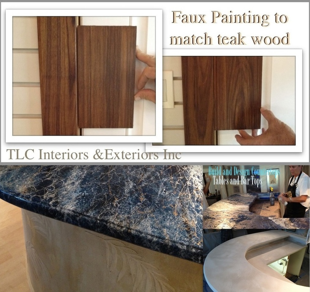 Faux finish painting florida keys